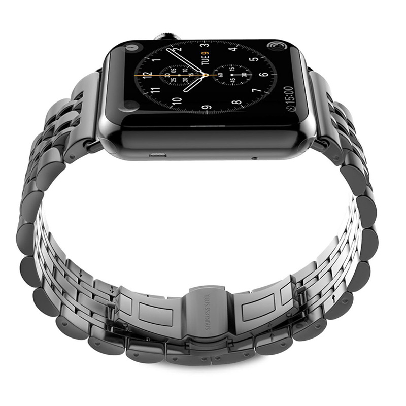 Byzylyk Watchbands Steel Stainless Steel For IWatch Apple Watch Band - Aksesorë për orë - Foto 3