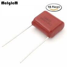 MCIGICM 105 1uF 100V 400V 450V CBB Polypropylene film capacitor pitch 5mm 15mm 1uF