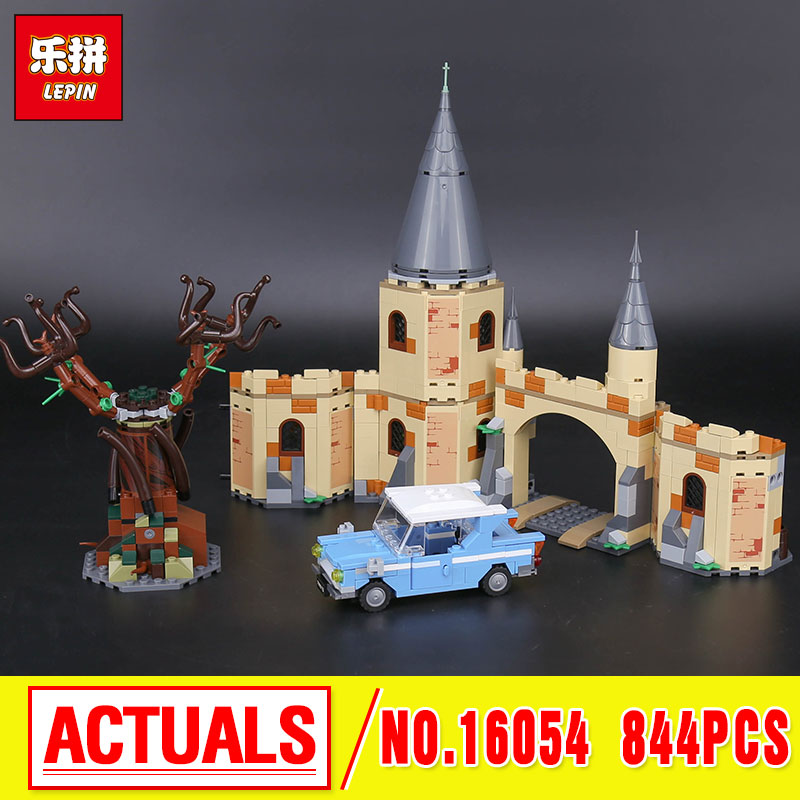 Lepin 16054 Harry Movie Potter The 75953 Hogwarts Whomping Willow Set Building Blocks Kids Toys Christmas Gifts Model in stock 16059 harry movie potter legoingp 75952 newt s case of magical creatrues set model building blocks kids toys christmas