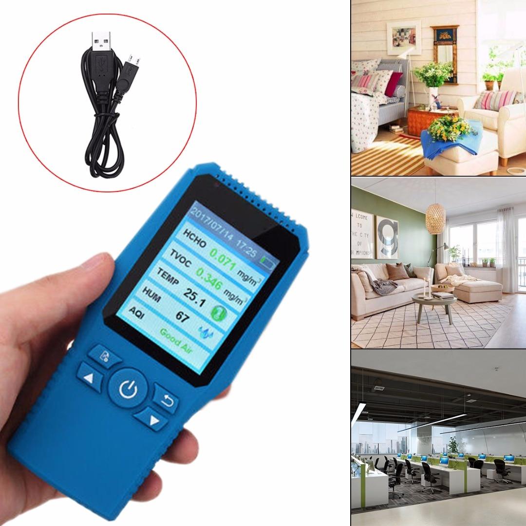 LCD Digital Formaldehyde Detector Meter Formaldehyde Air Quality Tester Sensor HCHO TVOC PM2.5 Meter Air Analyzers for Home digital formaldehyde detector meter hcho