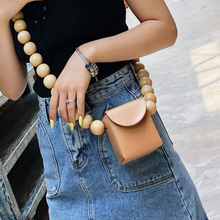 Women's Bags Designer Beaded Bag Pu Leather Wild Mini Small Square Package Clutch Female Travel Vacation Messenger Bags Handbag