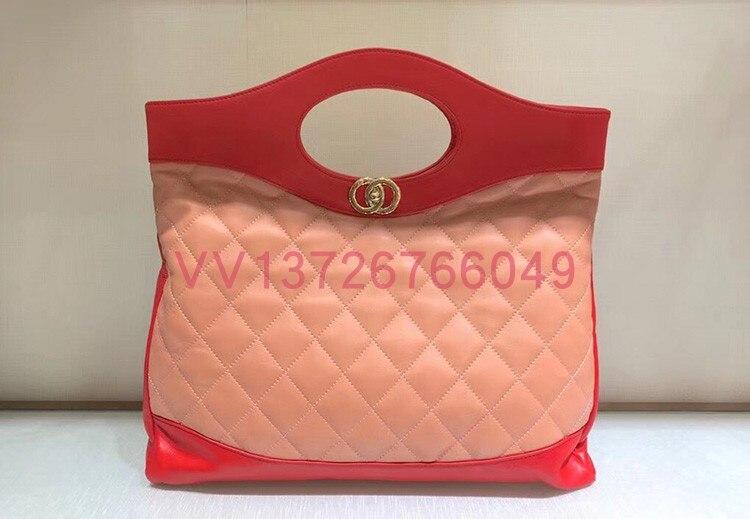 Designer 100 Runway rot Echtem Für Schwarzes Taschen rosa Leder Luxus Wc0477 Handtaschen Marke Umhängetaschen Berühmte Frauen gq0xRSxwH