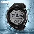 2016 Nueva Marca de Fábrica Superior de Los Hombres Relojes de los Deportes LED 50 M Buceo Nadar Vestido de Militar Moda Digital Reloj de Pulsera Estudiante Al Aire Libre