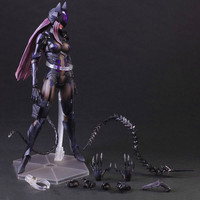 The Avengers Batman Catwoman PVC Action Figure Collectible Model Toy About 28CM