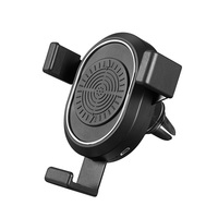 Gravity Car Mount Phone Holder Wireless Charger Air Vent Mount Clip for Universal Phones ND998