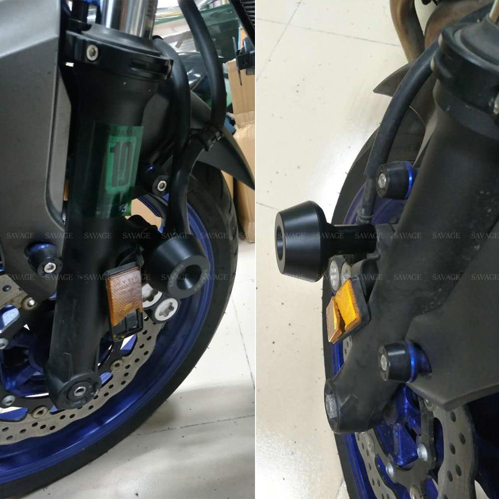 Front Wheel Fork Slider Protector For YAMAHA MT-01 MT-03 MT-07 MT-09//10 TDM 900