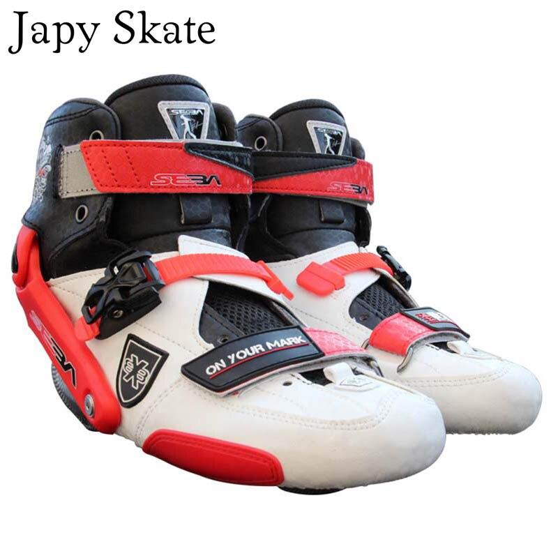 Prix pour Jus japy Skate D'origine 2015 SEBA TRIX Bottes Ligne En Fiber De Carbone Patins Bottes Rouleau De Patinage Chaussures Boot Coulissante Livraison De Patinage Patines