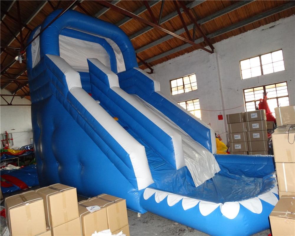 Популярные надувной водной горкой для взрослых и детей/Новый дизайн надувные слайд с бассейном