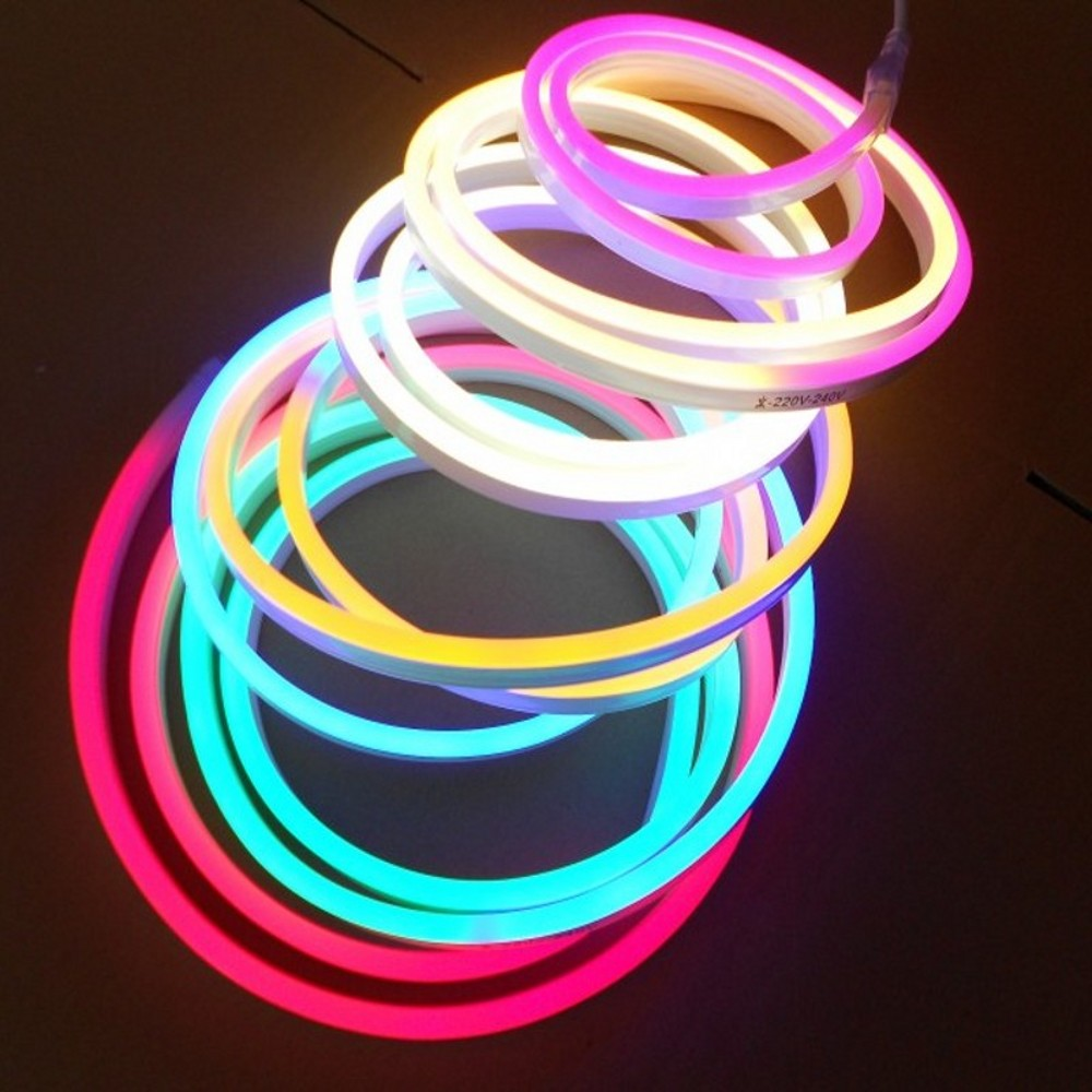 Led Neon Light 220v 120led M 2835 Flex Led Neon Strip