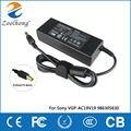 19.5 V 4.7A 90 W laptop AC power adapter para Sony Vaio VGN-AX VGN-BX VGN-C VGN-CR VGP VPC VGC 6.0mm * 4.4mm