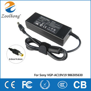Image 1 - 19.5V 4.7A 90W laptop AC power adapter charger for Sony Vaio VGN AX VGN BX VGN C VGN CR VGP VPC VGC 6.0mm * 4.4mm