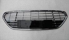 1 ШТ. выпечки окрашенные все гальванических переднего бампера нижняя решетка хромированная для Ford Fusion Mondeo 2011-2012