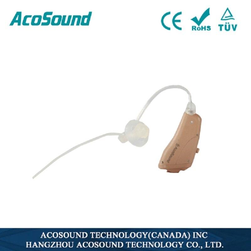10 pcs/lot Acosound prothèses auditives intégré acouphènes Masker appareil auditif numérique aide auditive ouverte ajustement dispositif d'amplificateurs auditifs RIC