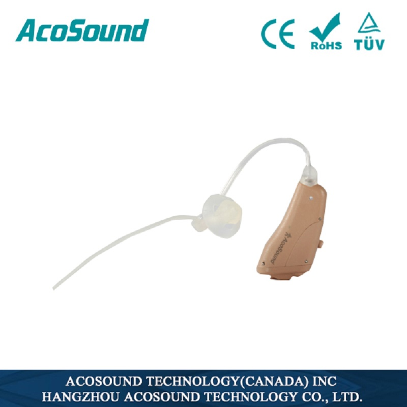 10pcs/lot Acosound Hearing Aids Built in Tinnitus Masker Digital Hearing Aid Open Fit Ear Aid RIC Hearing Amplifiers Device