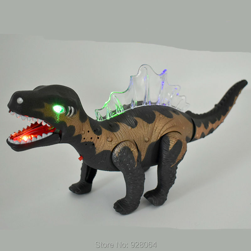 new big electric dinosaur toys/Electric Animal Model Battery/baby toys for children/Luminous toy birthdayGift for Kids/sound toy