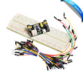 Top Quality MB102 Breadboard power module+MB-102 830 points Solderless Prototype Bread board kit +65 Flexible jumper wires
