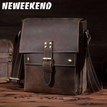 Genuine Leather Men Bags Hot Sale Shoulder Male Bag Small Messenger Man Bag Fashion Crossbody Handbag Men's Travel New Bags 8571