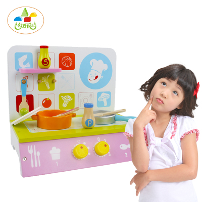 wooden kitchen  suit children play house   stove toy set  for cooking toys Educational Toys  gift free shipping children tea set wooden child toy play house kitchen toys pretend tea set play
