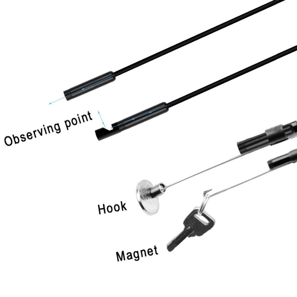 IOS Android Telefon üçün 5.5mm WiFi USB Endoskop OTG Borescope - Cib telefonu aksesuarları və hissələri - Fotoqrafiya 4
