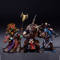WORLD WOW Troll Shaman Undead Warlock Tauren Warrior Action Figures Statue Toy Anime Figure Collectible Model Toy