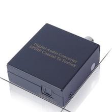 REDAMIGO Digital Audio Converter SPDIF Coaxial to Toslink Optical Digital Converter Audio Converter Adapter