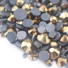 2019 Summer New 1000pcs Mix size Hotfix Rhinestone Shiny Crystal AB SS6 SS10 SS16 SS20 SS30 for Clothes DIY free shipping