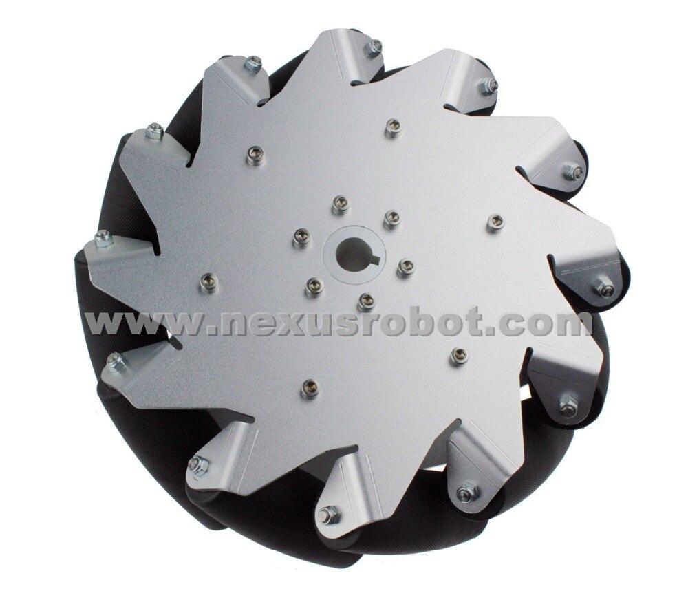 Roue Mecanum robuste 10 pouces droit Nexus 14130 (capacité de charge 70 kg/pcs)