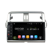 Deckless CAPACTIVE 1024*600 screen 10.1″ Android 5.1.1 for TOYOTA PRADO LC150 2014-2015 Car DVD Navigation GPS Radio wifi player