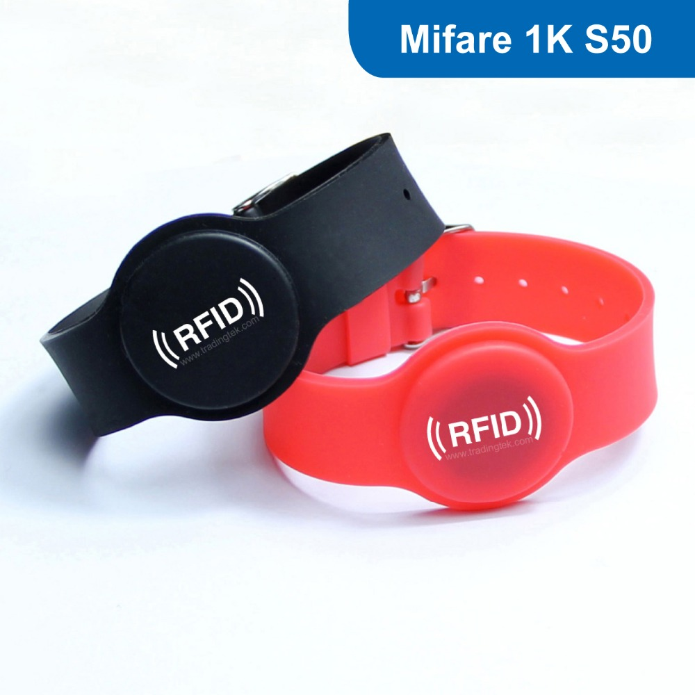 WB05 RFID Silicone Wristband, RFID bracelet Tag for access control RFID Tag 13.56MHZ 1K BYTE R/W ISO14443A with M1 S50 Chip hw v7 020 v2 23 ktag master version k tag hardware v6 070 v2 13 k tag 7 020 ecu programming tool use online no token dhl free