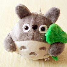 Free shipping wholesale 15cm lovely plush toy, my neighbor totoro plush toy lovely doll totoro with lotus leaf