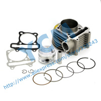Set of Cylinder Kit 61mm Chinese Scooter Engine GY6 125CC 150CC Modified 170CC Large Displacement Drop Shipping