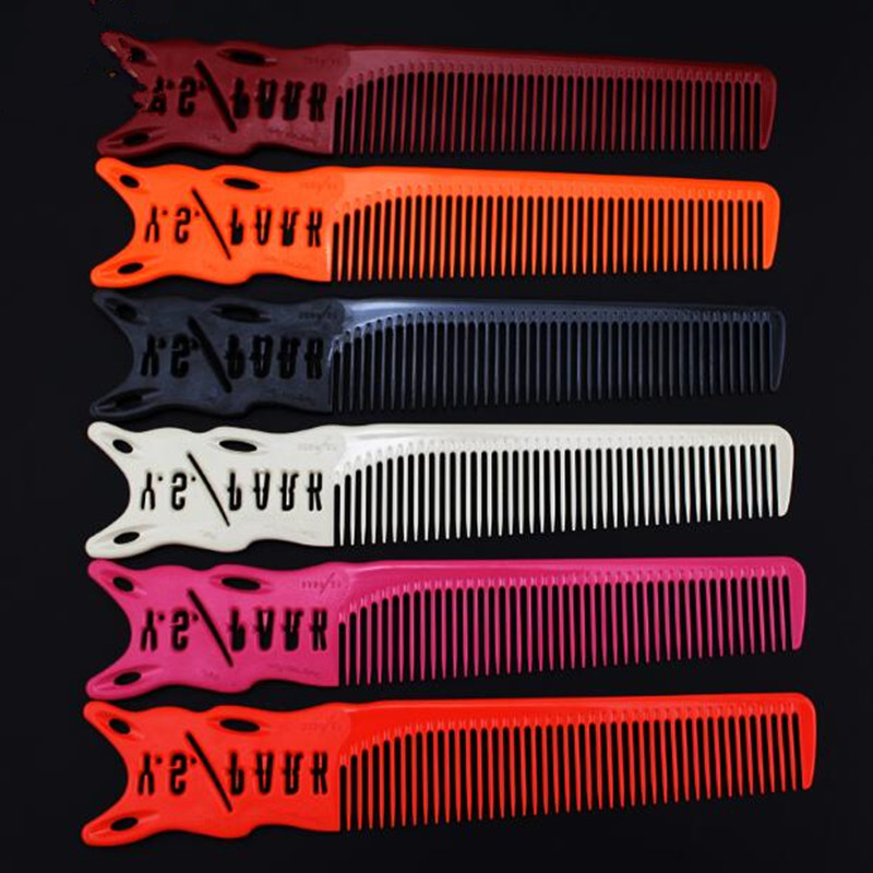 1 Pc New Hairdressing Cut Comb Professional Barber Comb For Hairstyling Durable Resin Haircut Comb Hair Care & Styling