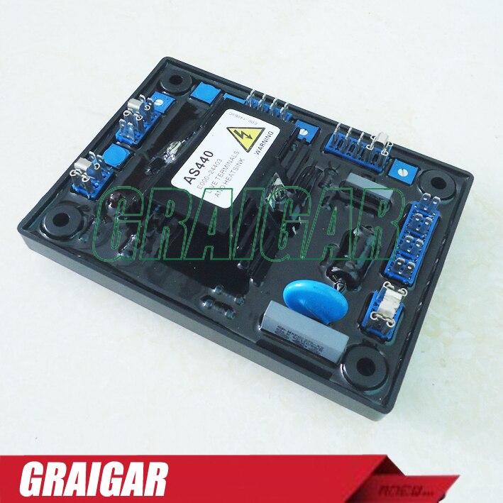 Wholesale  2pcs/lots AVR AS440 Gensets Automatic Voltage RegulatorWholesale  2pcs/lots AVR AS440 Gensets Automatic Voltage Regulator