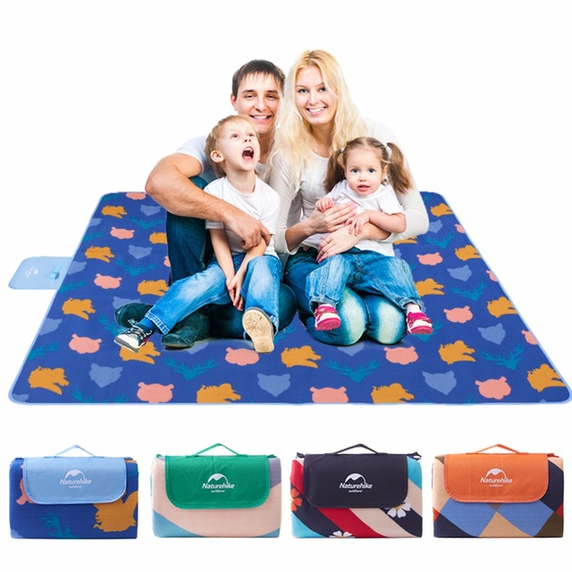 Family Beach Blanket: Naturehike Camping Mat Outdoor Foldable Waterproof Beach