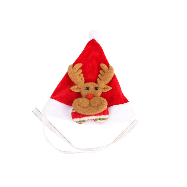 Christmas Hat For Cats (4 Colors Available)
