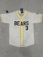 Bad News Bears #12 Tanner Boyle #3 Kelly Leak Baseball Jersey Stitched Numbers S XXXL