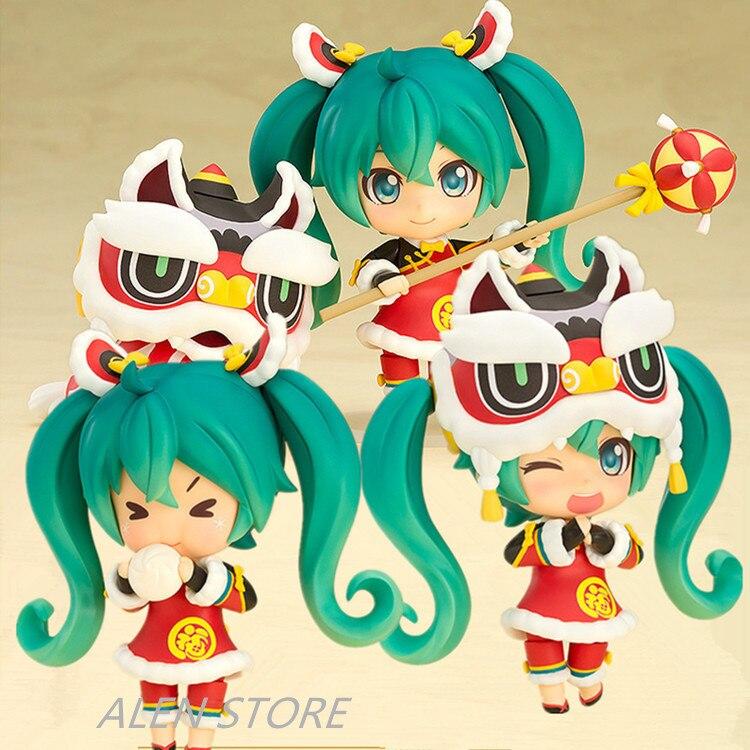 Nendoroid Hatsune Miku Lion Dance ver. PVC Action Figure Collectible Model Toy 10cm