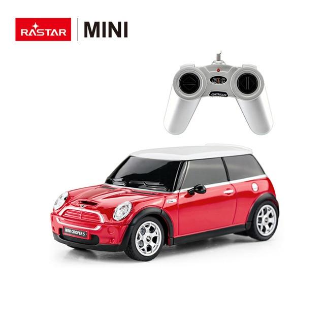 Rastar Licensed Kids Electric Car Mini Rc Car 1 24 Mini Cooper S Car
