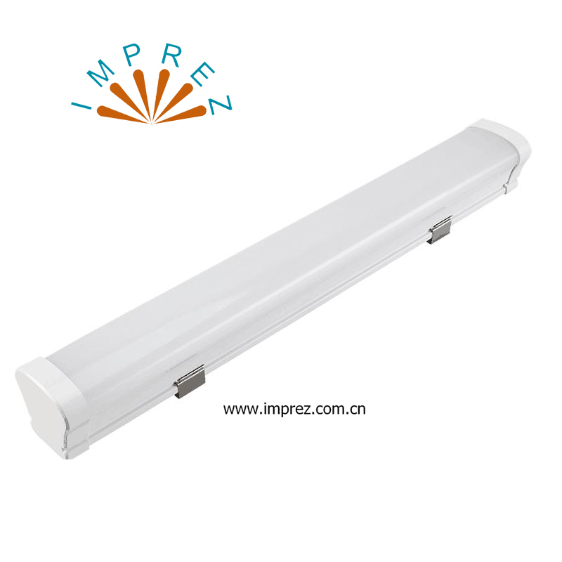 4ft Led Vapor Tight Retrofit 50w Tri proof light ip65 milky or clear cover tubes fixture free shipping hot selling 1m pcs led aluminum profile for led strips with milky or clear cover and end caps clips