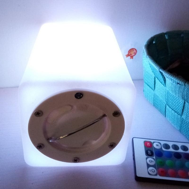 16 cor cuboid led noite lampadas ao 05