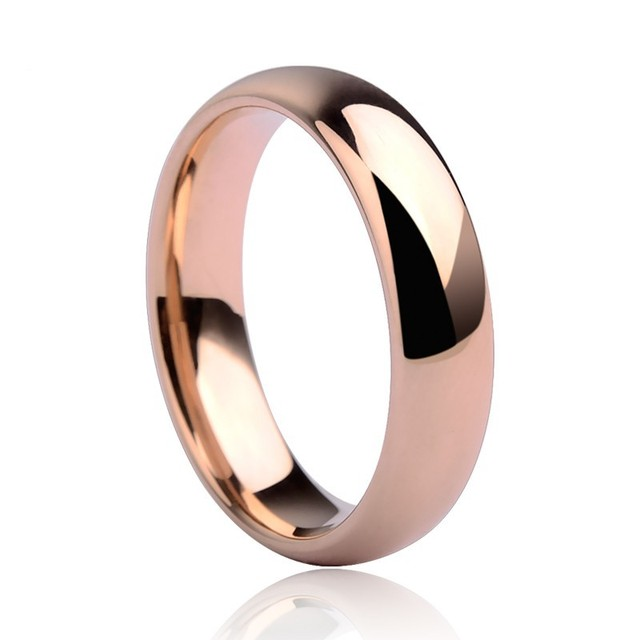 High Quality Rose Gold Tone Tungsten