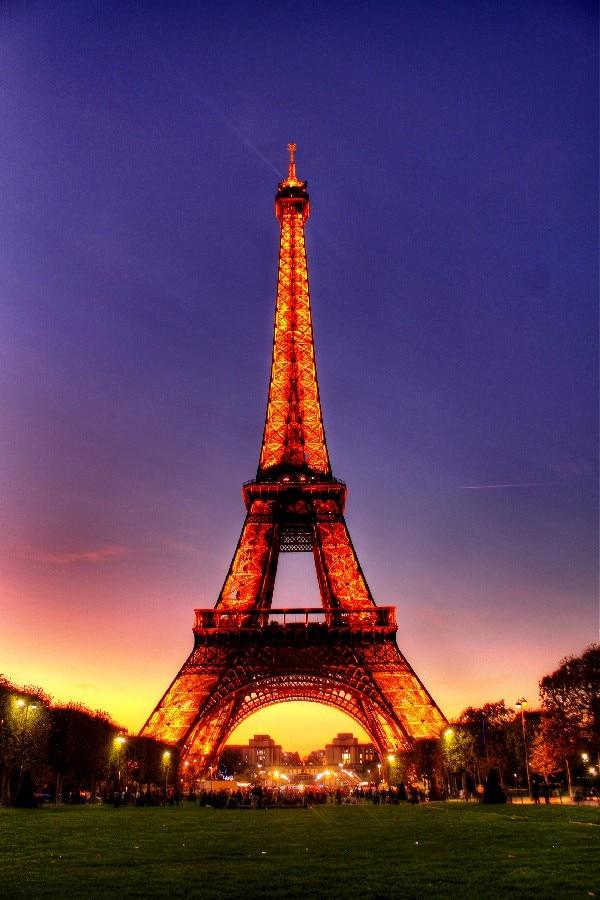 ④DIY marco Francia Paris City Torre Eiffel paisaje urbano paisaje ...