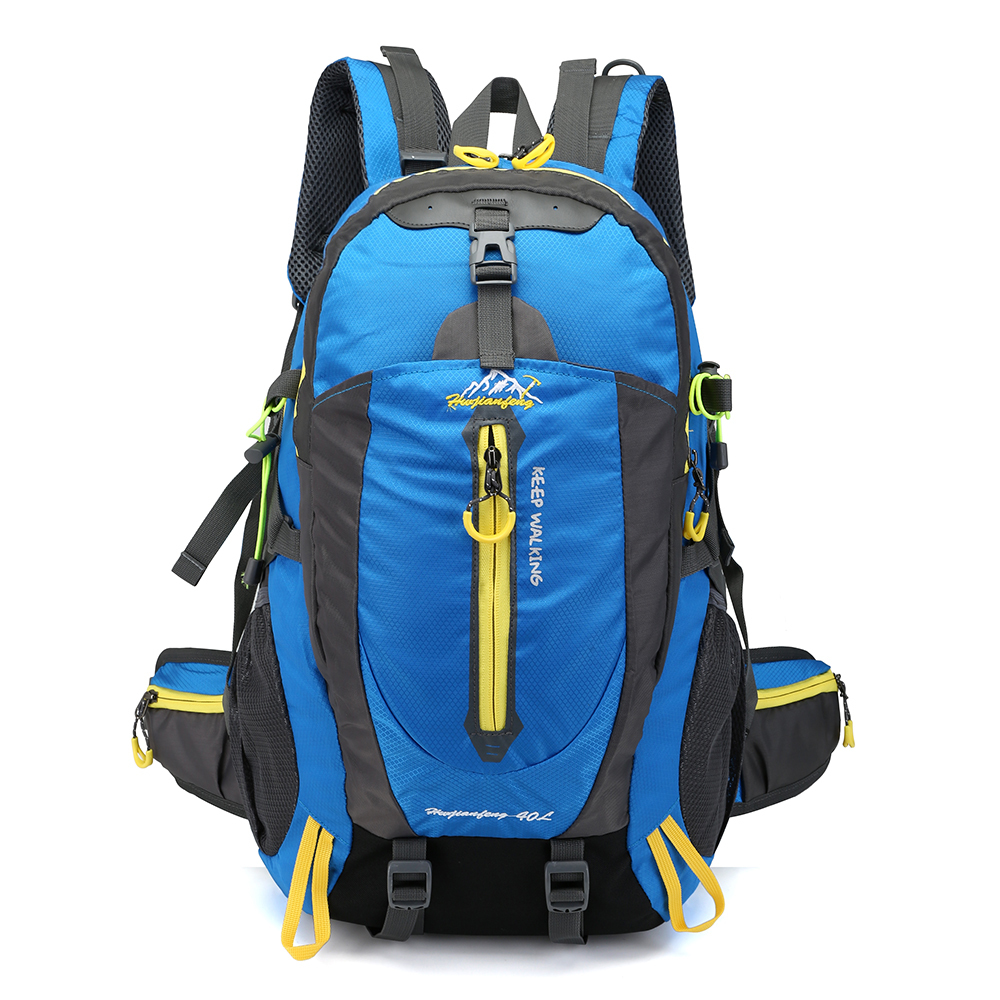 HTB15la biDxK1Rjy1zcq6yGeXXaa Waterproof Climbing Backpack Rucksack 40L Outdoor Sports Bag Travel Backpack Camping Hiking Backpack Women Trekking Bag For Men