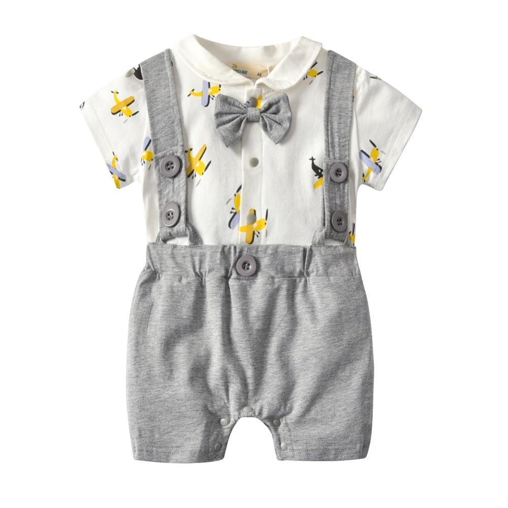 Organic Baby Boy Onesie Newborn Romper Gentleman Outfit ...