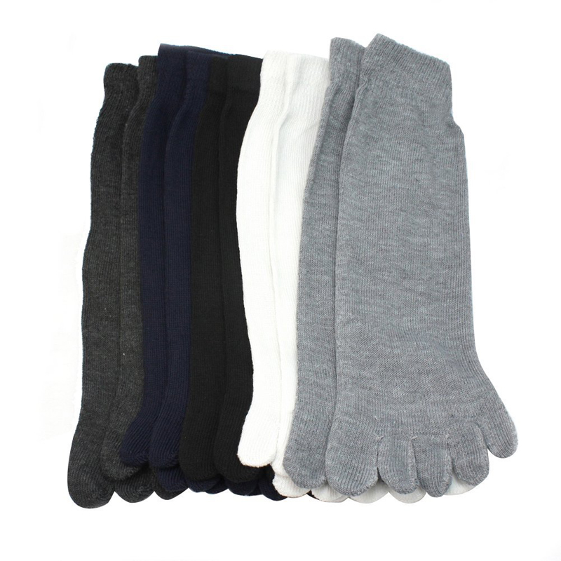 5 Pairs Fashion Men Funny Socks Five Fingers Separate Toe Socks Comfortable Gifts For Men Calcetines Hombre Calcetines Hombre