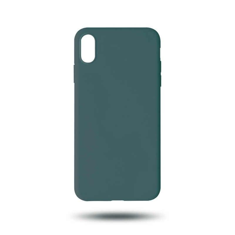 Di Colore della caramella opaca Della Cassa Del Telefono Per il iPhone XS Max XR X 7 Plus11 Pro Max Pianura Silicone coque Per il iPhone 6 6S 7 8 Più Il Caso Molle di TPU