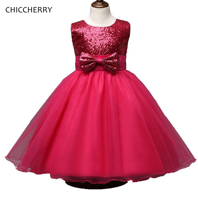 Подробнее о Hot Pink Toddler Girl Dress Bowknot Ball Gown for Children Kid Wedding Party Lace Dresses Robe Fille 12 Ans Summer Baby Clothing robe fille 8 ans baby girl dress children clothing party casual princess dress girl for girls clothes kis dresses summer 2017