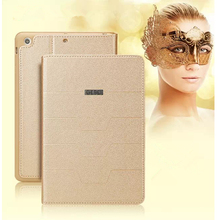 """YIMIWEI For ipad pro 9.7"""" tablet leather case High Quality cover For Apple ipad air 1 2 Fashion dormancy cases for ipad mini 4"""