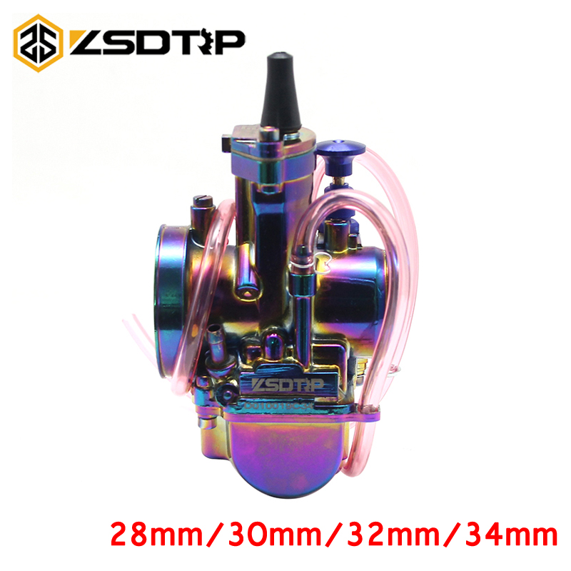 ZSDTRP PWK Motorcycle 28mm 30mm 32mm 34mm Universal Racing 4T Engine Carburetor For UTV ATV ATV Quad Dirt Bike Motocross