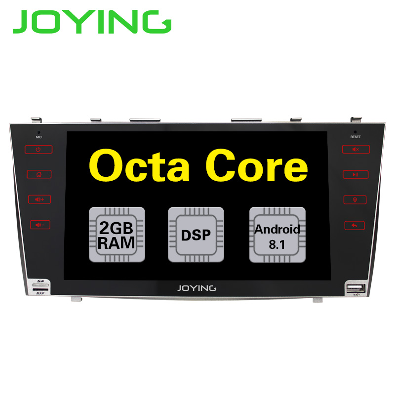 2G RAM 2 din Octa Core Android 8 1 Car Radio 9 GPS Navigation For Toyota